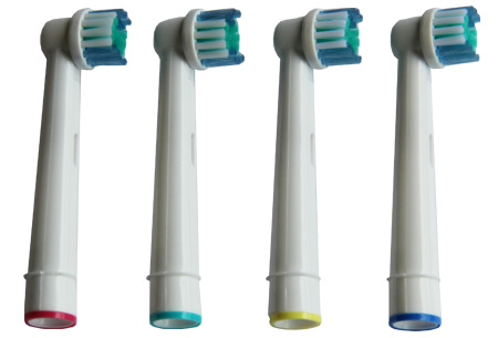 12-pack opzetborstels voor Oral-B elektrische tandenborstels nu €6,95!