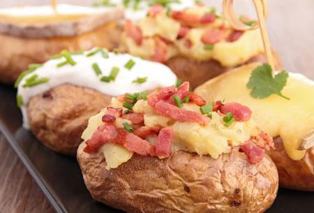 Aardappel pofzak nu slechts €4,95 | Gemakkelijk en snel heerlijk gepofte aardappelen!
