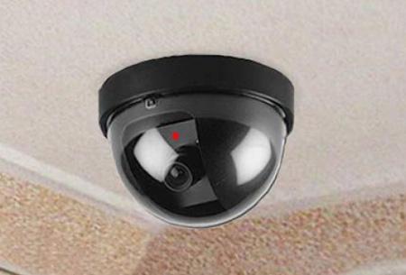 Dummy beveiligingscamera in 3 modellen nu al vanaf €7,95 | Verklein de kans op inbraak of diefstal! model 1