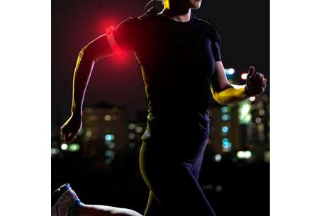 LED sportband nu slechts €5,95 | Veilig en zichtbaar in het donker