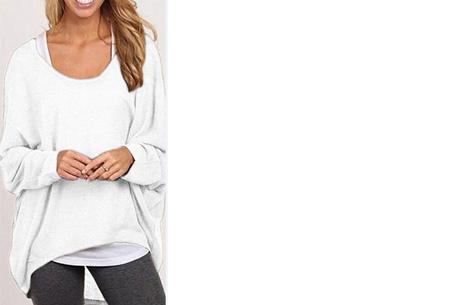 Oversized batwing shirt | Comfortabel & stijlvol Wit
