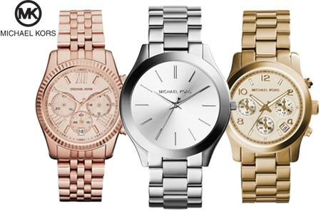 Michael Kors horloge nu al vanaf €149,95 | Keuze uit 3 modellen en 3 kleuren
