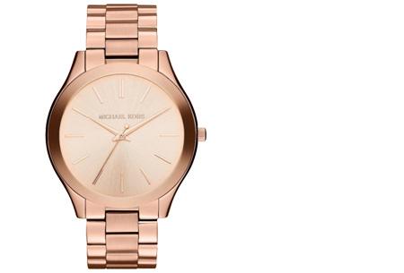 Michael Kors horloge nu al vanaf €149,95 | Keuze uit 3 modellen en 3 kleuren MK3197