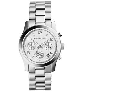 Michael Kors horloge nu al vanaf €149,95 | Keuze uit 3 modellen en 3 kleuren MK5076