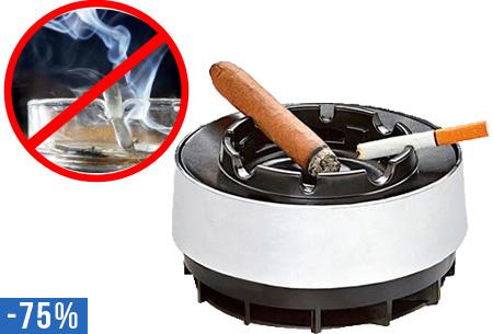 Design rookloze asbak nu slechts €6,95 | Weg met de rookgeur!