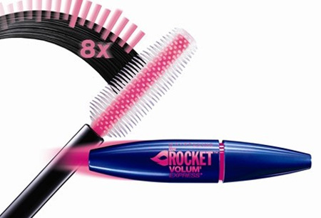 Maybelline Colossal Volum'Express mascara's nu met mega korting! Set van 2 slechts €12,95 The Rocket Black