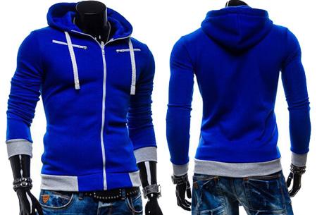 Hoodie heren vest nu slechts €17,95 | Keuze uit 5 kleuren Blauw