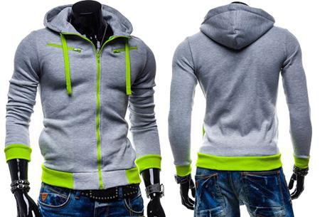 Hoodie heren vest nu slechts €17,95 | Keuze uit 5 kleuren Lichtgrijs