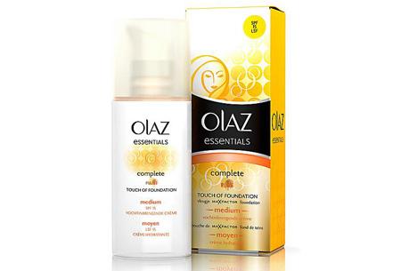 Olaz Complete Touch of Foundation getinte dagcrème nu 2 stuks voor slechts €8,95!