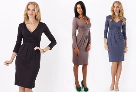 Dames chique jurk nu slechts €17,95 | Camoufleert je probleemzones!