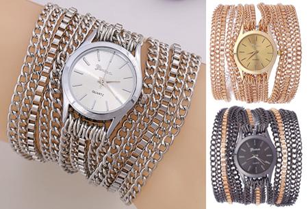 Geneva armbandhorloge nu slechts €7,95 | Hippe en stoere accessoire!