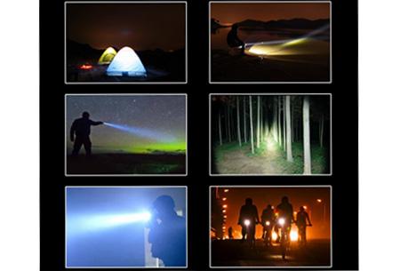 Cree LED zaklamp nu slechts €7,95 | Een must voor elk huishouden