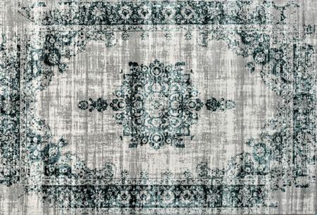 Prachtige vintage vloerkleden al vanaf slechts €39,95 | Verschillende kleuren, maten en designs! Medaillion - Grijs