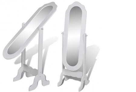 Vrijstaande spiegel nu al vanaf €34,95! Keuze uit diverse modellen en kleuren model 3