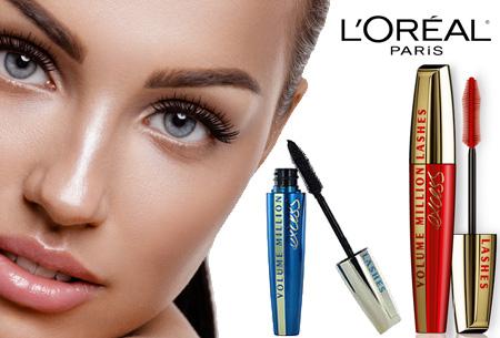 L'Oréal Million Lashes mascara's | 2 stuks nu slechts €13,95!