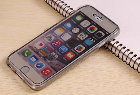 Flexibele smartphone covercase | Voor diverse iPhone en Samsung smartphones zwart