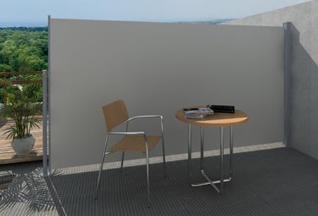 Uitschuifbaar wind- en zonnescherm 160 of 180 x 300 cm nu al vanaf €79,95 | Ideaal voor tuin of balkon! crème
