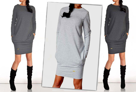 Sweater dress nu slechts €13,95 | Comfortabel en helemaal on trend!