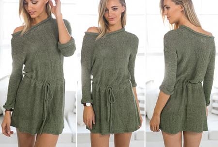 Boho trui nu slechts €17,95 | Stijlvol & comfortabel in één! Legergroen