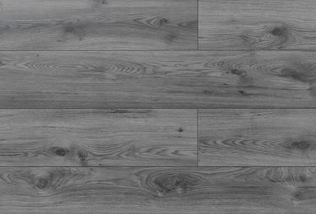 Laminaat van topkwaliteit nu slechts €8,95 per m2 | Optioneel met bijpassende plinten en ondervloer Millenium smoked grey