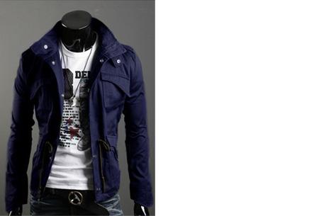 Heren zomerjas nu slechts €29,95 | Voor een stijlvolle en stoere look. Blauw