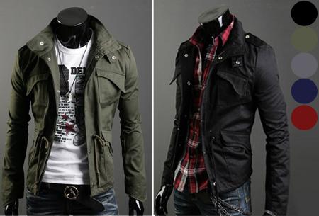 Heren zomerjas nu slechts €29,95 | Voor een stijlvolle en stoere look.