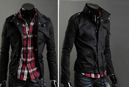 Heren zomerjas nu slechts €29,95 | Voor een stijlvolle en stoere look. Zwart