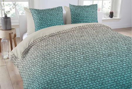 Dekbedovertrekken van 100% katoen nu al vanaf slechts €14,95 | In 7 prachtige designs. Gradient Aqua