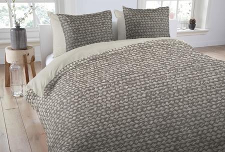 Dekbedovertrekken van 100% katoen nu al vanaf slechts €14,95 | In 7 prachtige designs. Gradient Grey