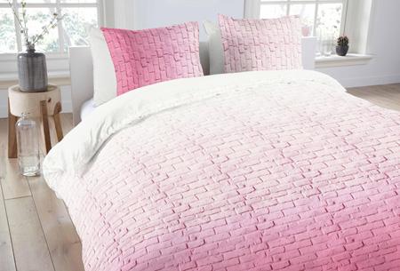 Dekbedovertrekken van 100% katoen nu al vanaf slechts €14,95 | In 7 prachtige designs. Pink Brick