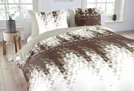 Dekbedovertrekken van 100% katoen nu al vanaf slechts €14,95 | In 7 prachtige designs. Love Dots