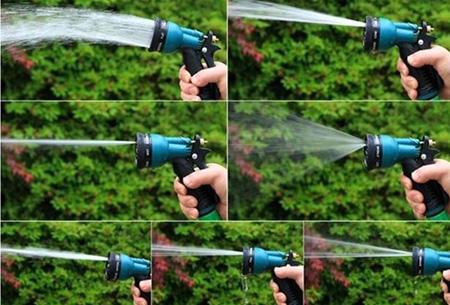 Innovagoods Expandable Hose- uitrekbare stretch tuinslang | Makkelijk, handig & snel!