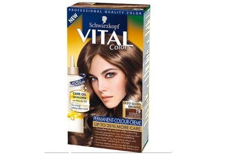 Schwarzkopf Vital Colors haarverf 3 of 6 pakken nu al vanaf €10,95 | Keuze uit 15 kleuren 79 Fluweelbruin