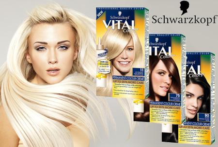Schwarzkopf Vital Colors haarverf 3 of 6 pakken nu al vanaf €10,95 | Keuze uit 15 kleuren
