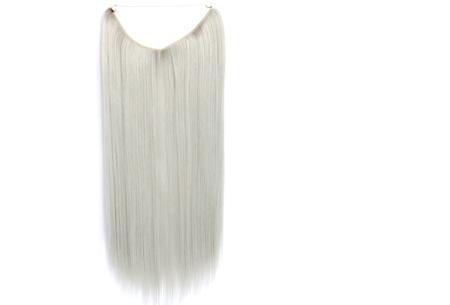 Wire haarextensions | Binnen één minuut lang en vol haar! Keuze uit 20 kleuren # yhs