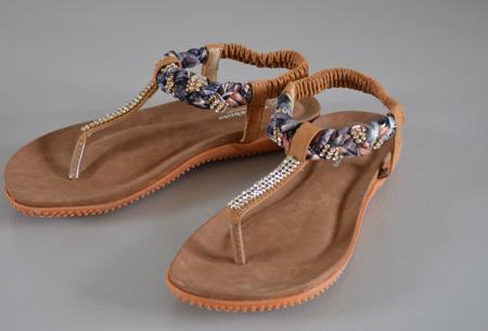 Boho Ibiza slippers | Voor een bohemian zomerlook! bruin