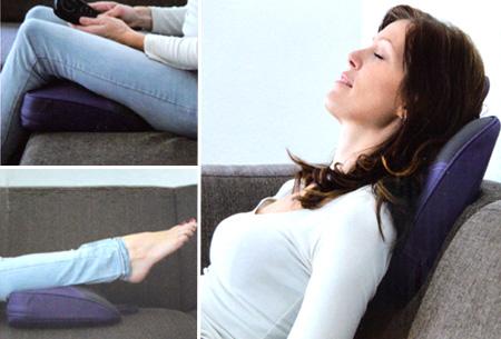 Warmte massagekussen nu slechts €21,95 | Voor volledige rust en ontspanning