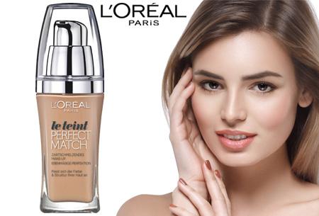 L'Oréal True Match / Perfect Match foundation nu slechts €7,95 | Voor een prachtige egale huid!
