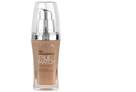 L'Oréal True Match / Perfect Match foundation nu slechts €7,95 | Voor een prachtige egale huid! C5/R5