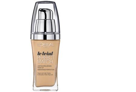 L'Oréal True Match / Perfect Match foundation nu slechts €7,95 | Voor een prachtige egale huid! D5/W5