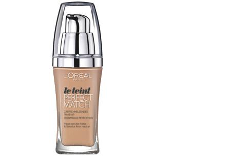 L'Oréal True Match / Perfect Match foundation nu slechts €7,95 | Voor een prachtige egale huid! N4