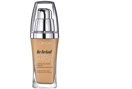 L'Oréal True Match / Perfect Match foundation nu slechts €7,95 | Voor een prachtige egale huid! W7