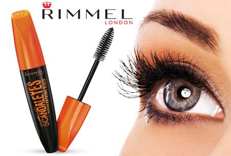 Rimmel ScandalEyes extreme black mascara - nu 2 stuks voor maar €9,95!