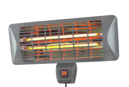Eurom terrasverwarmer nu al vanaf €19,95 | Keuze uit 3 modellen Q-Time 2000