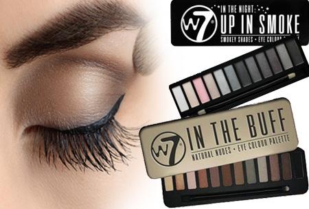 W7 oogschaduw paletten 12 kleuren voor slechts €8,95 | Voor een prachtige oogopslag