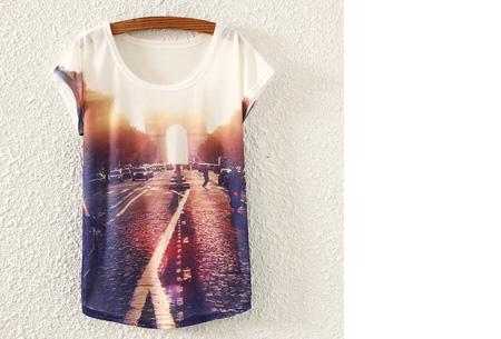 T-shirt met leuke print | Keuze uit 19 verschillende uitvoeringen! #2 Street