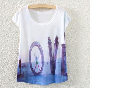 T-shirt met leuke print | Keuze uit 19 verschillende uitvoeringen! #5 Love