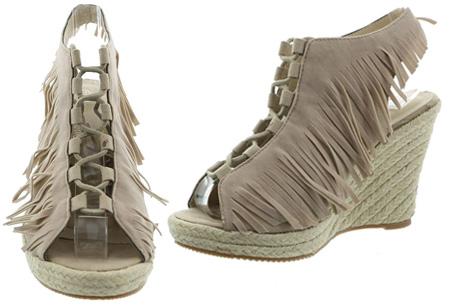 Fringe sleehakken nu slechts €24,95 | Voor een zomerse & stijlvolle bohemian look!