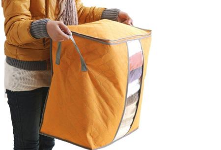 Kleding opbergboxen, set van 2, 4 of 8 | Je zomer- of winterkleding netjes opgeruimd!