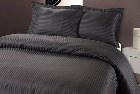 Fancy Embroidery dekbedovertrekset nu al vanaf €14,95 | Waan jezelf in luxe met dit zijdezachte overtrek! grijs